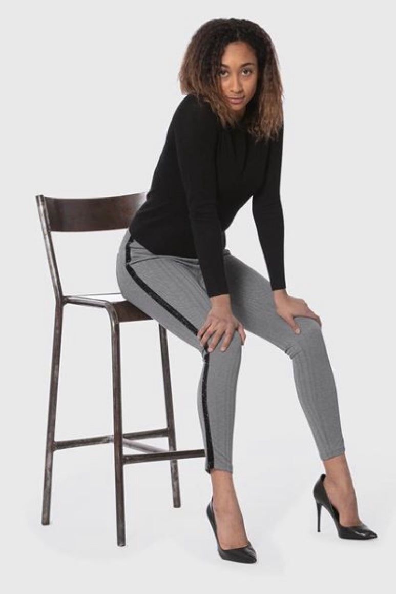 Janice Herringbone Pant with Free Shipping