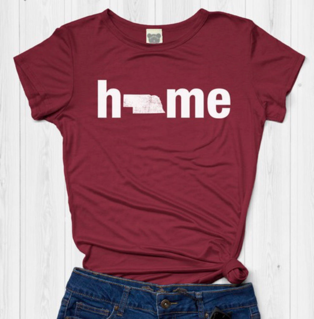 Nebraska Home Tee Free Shipping