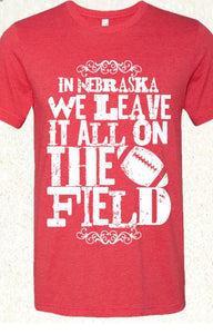 Leave it on the Field Graphic Tee Free Shipping