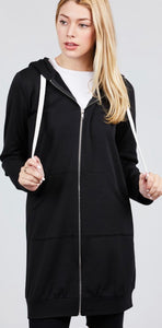 Long Sleeve Hoodie with Pockets with Free Shipping