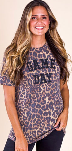 Game Day Leopard Shirt with Free Shipping