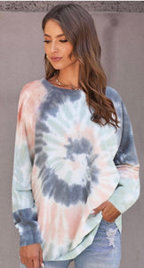 Tie Dye Sweatshirt with Free Shipping