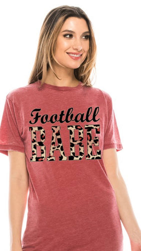 Football Babe T-Shirt with Free Shipping