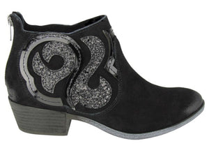 Naughty Monkey Suede Bootie with Free Shipping