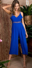 Load image into Gallery viewer, Royal Blue Jumpsuit Free Shipping