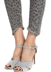 Cheetah Print Denim Free Shipping