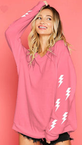 Lightning Bolt Sweatshirt with Free Shipping