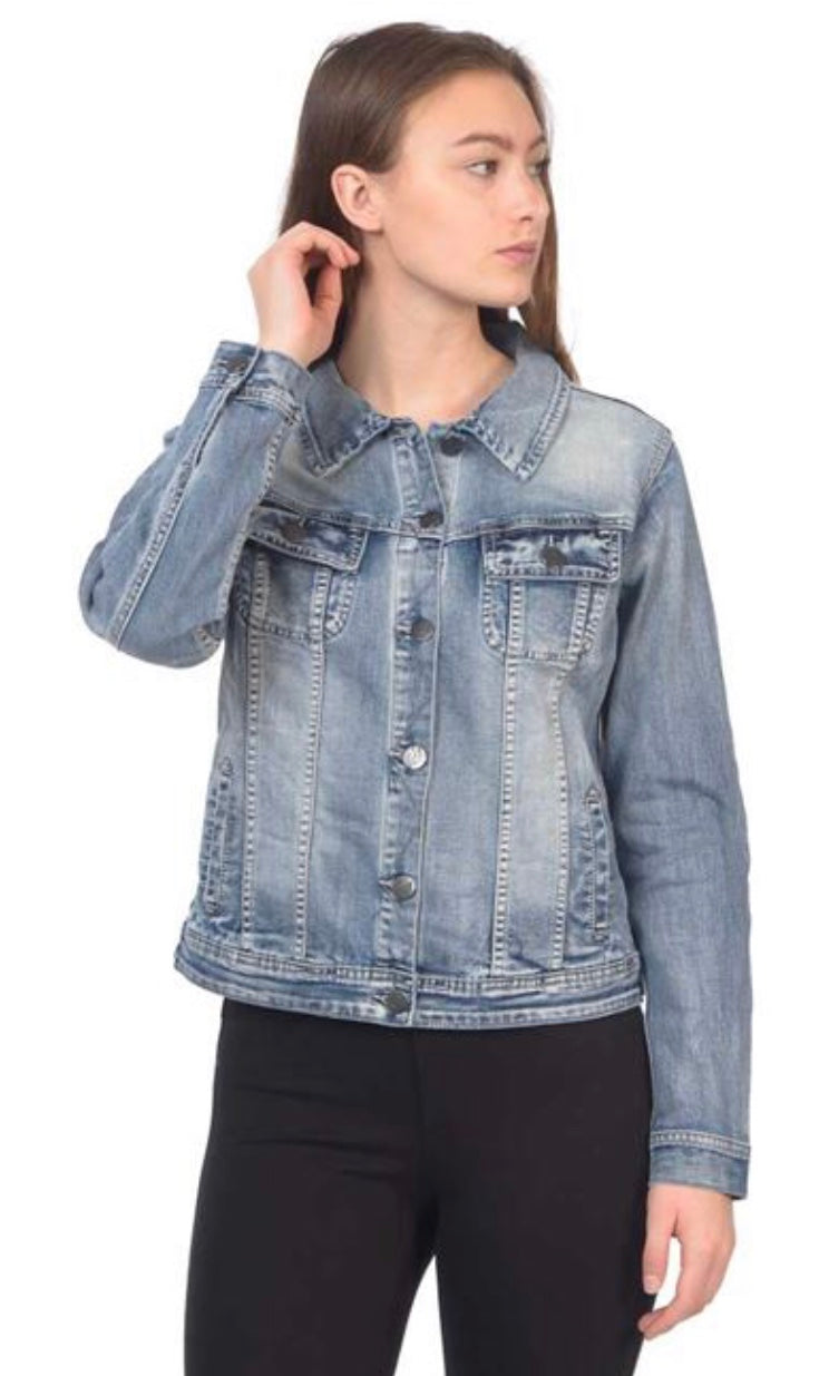 Lola Denim Jacket Free Shipping