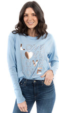 Load image into Gallery viewer, LOVE Game Changer long sleeve tee Free Shipping