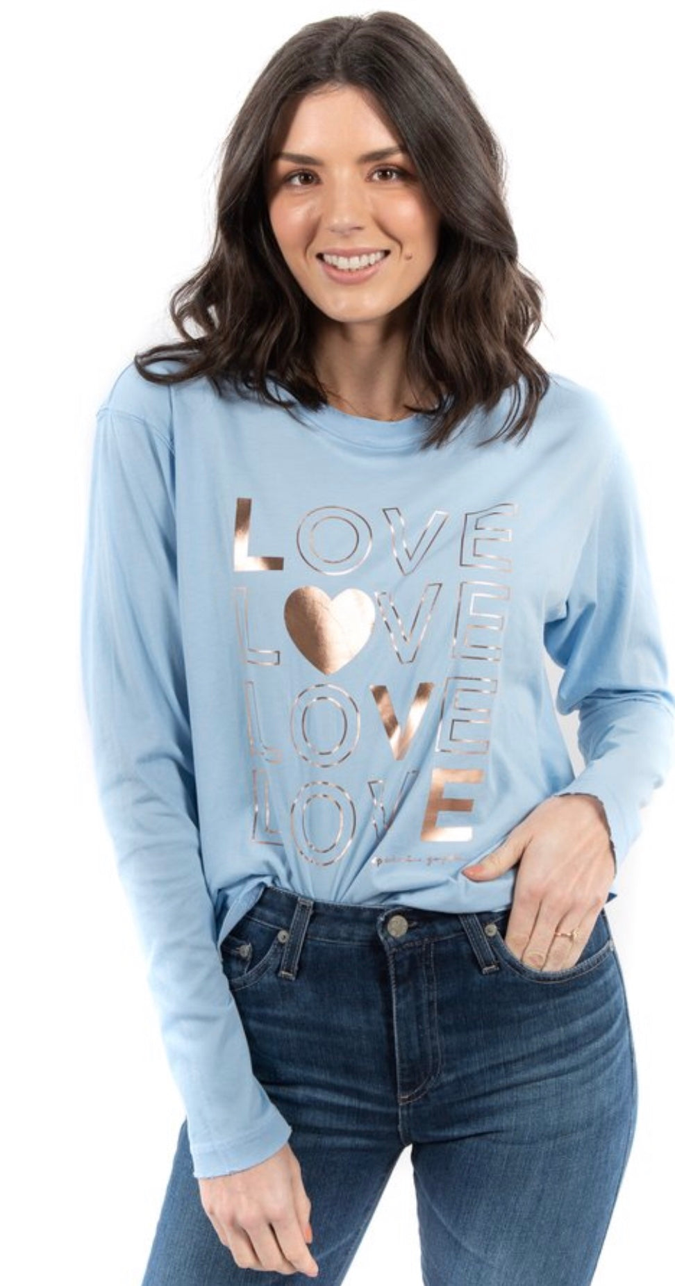 LOVE Game Changer long sleeve tee Free Shipping