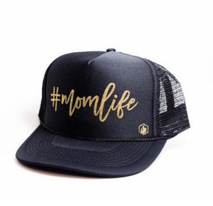 #momlife Trucker Hat with Free Shipping