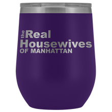 Load image into Gallery viewer, The Real Housewives of Manhattan Wine Tumbler Free Shipping