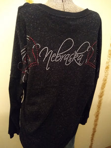 Sparkly NE Sweater with Free Shipping