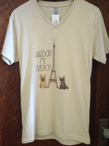 Pardon My French Tee With Free Shipping