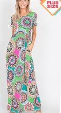 Load image into Gallery viewer, Plus Size Maxi Dress with Free Shipping