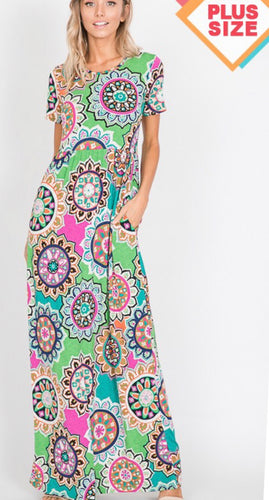 Plus Size Maxi Dress Free Shipping