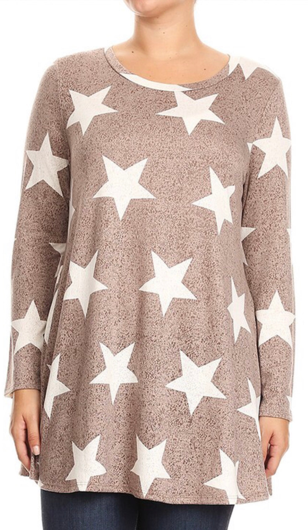 Star Accent Shirt Free Shipping