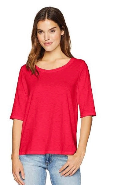 Swing Tee in Red with Free Shipping