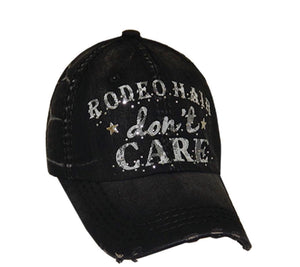 Rodeo Hair Don't Care Truckerhat w/free shipping