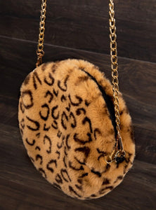 Faux Fur Crossbody with Free Shipping