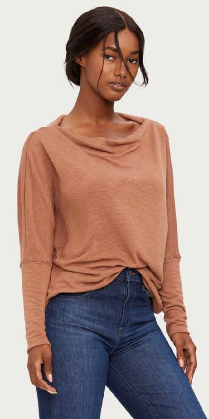 Amy Boatneck Top with Free Shipping