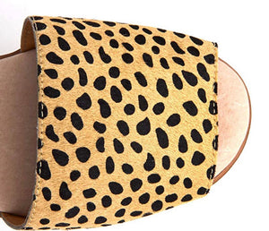 Easy Cheetah Print Sandal Free Shipping