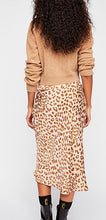 Load image into Gallery viewer, Leopard Print Maxi Skirt Free Shipping
