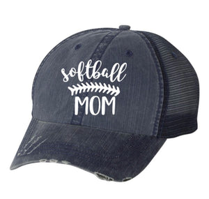 Softball Mom Trucker Hat w/free shipping