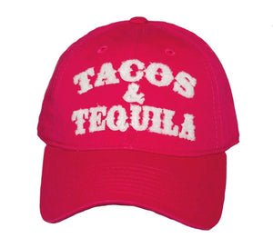 Tacos and Tequila Trucker Hat with Free Shipping