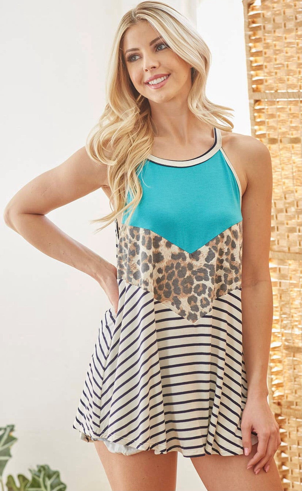 Halter Tank Top with Free Shipping