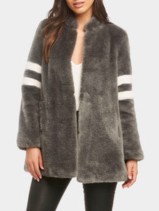 Zoey Faux Fur Coat with Free Shipping