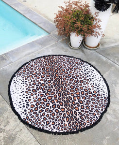 Leopard Beach Towel Free Shipping