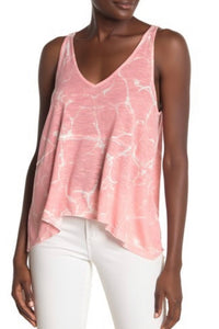 V-Neck Trapeze Tank Top with Free Shipping