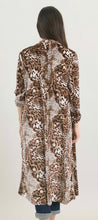 Load image into Gallery viewer, Velvet Leopard Print Kimono with Free Shipping