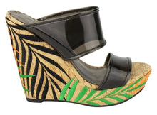 Load image into Gallery viewer, Palmeto Wedge Sandal with Free Shipping
