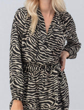 Load image into Gallery viewer, Zebra Print Jumpsuit with Free Shipping