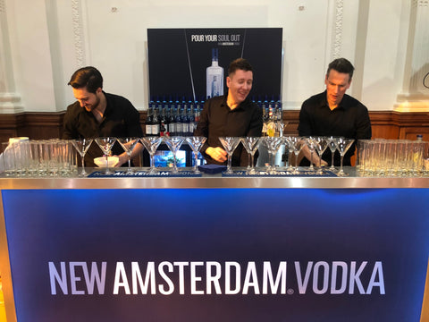 New Amsterdam Vodka Portable Bar