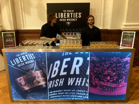 Liberties Irish Whiskey Portable Bar