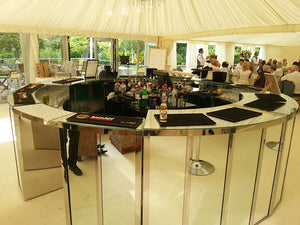 Mirrored Circular Bar