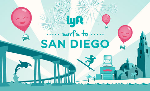 May 26, · Lyft Promo Code and Promotions. Using a Lyft gift code to claim free ride credit is a great way for new users to try the platform sinking in too much of their own money into the ride. Lyft grants up to $50 in free ride credit to new users. San Diego Lyft Coverage Area Map. Lyft coverage area map for San Diego, CA. San Diego Lyft Pricing/5().