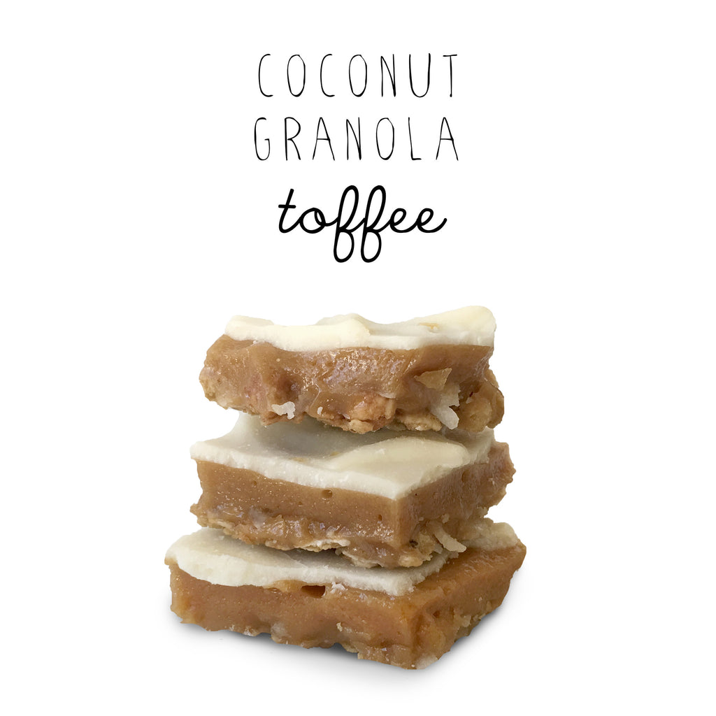 Coconut Granola Toffee