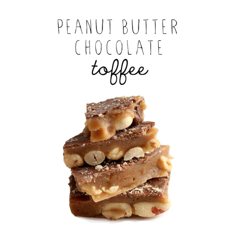 Peanut Butter Chocolate Toffee