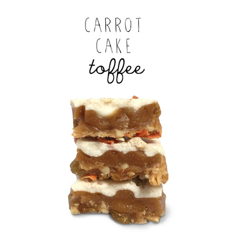 Carrot Cake Toffee