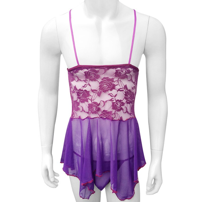 """Purple Slut"" Babydoll"