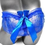 Big Bow Lace Sissy Thong Sissy Panty Shop
