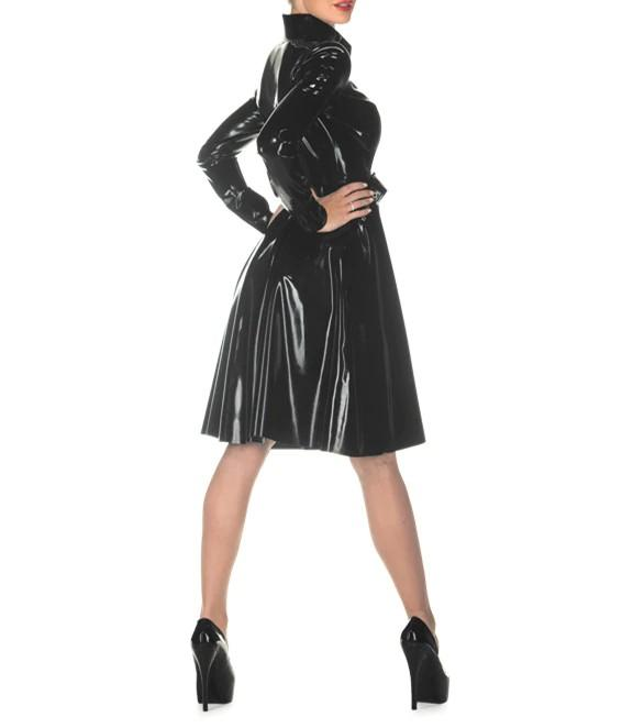 Latex Trench Coat Sissy Panty Shop
