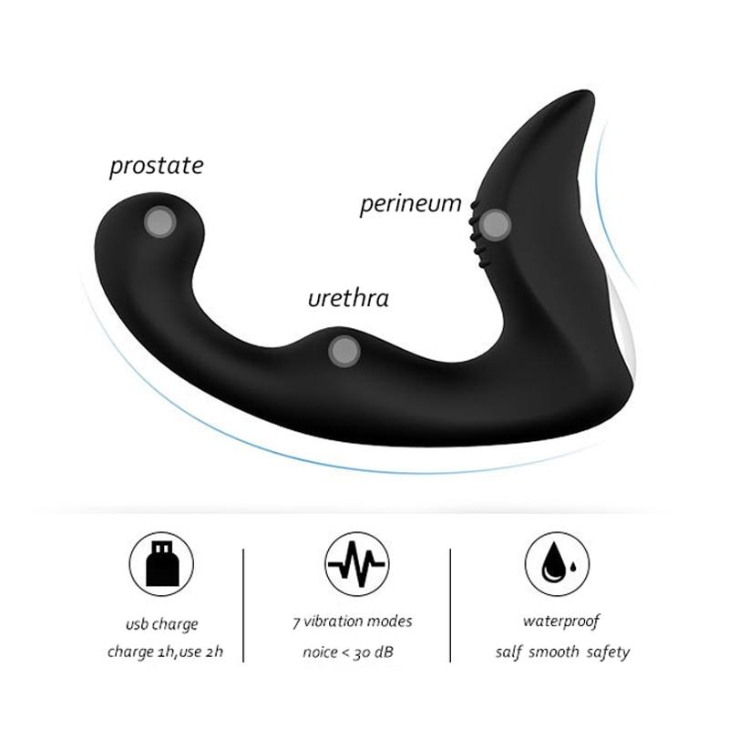 10 Speed Anal Vibrator & Prostate Massager Sissy Panty Shop