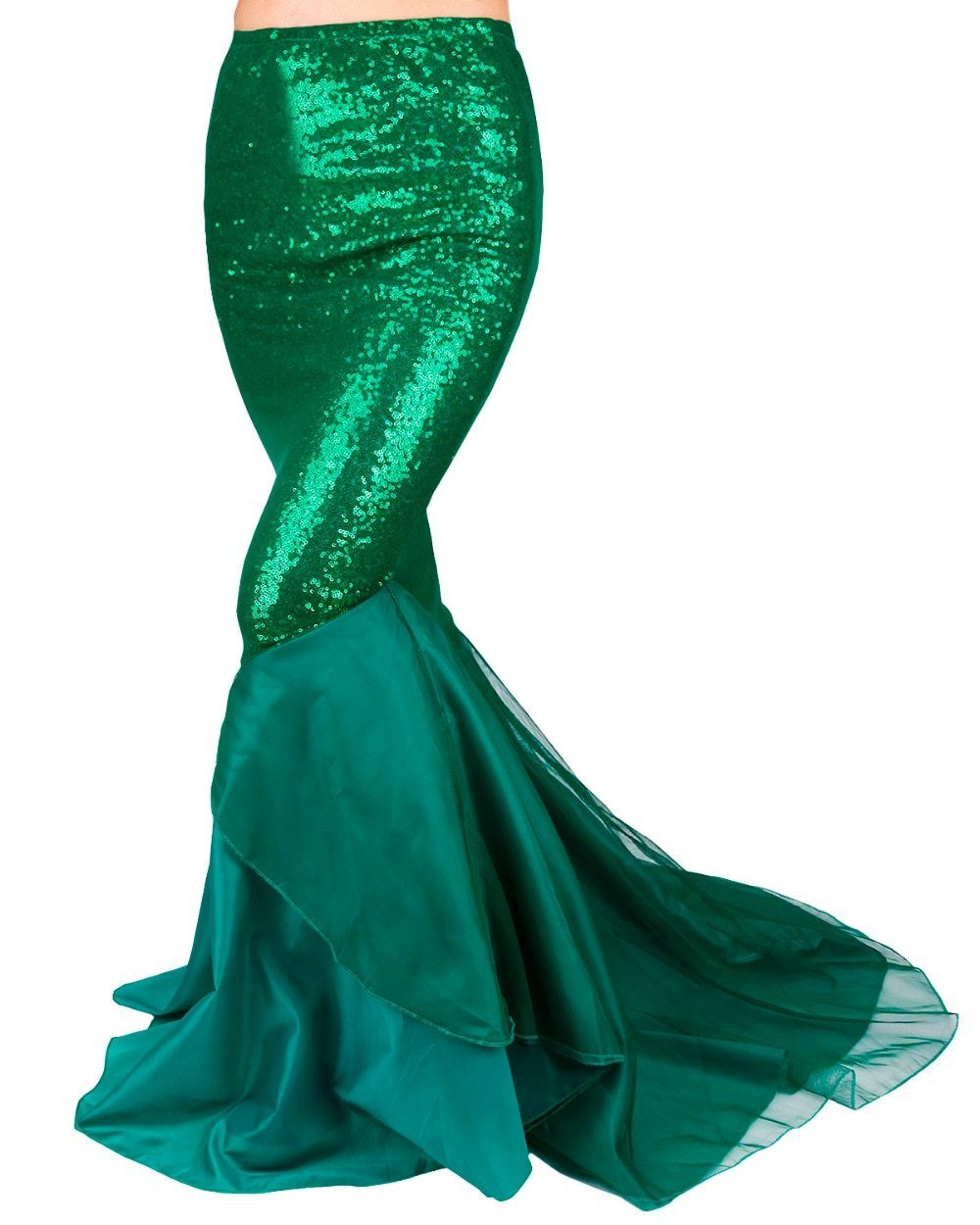 """Sissy Rita"" Sequined Mermaid Tail Skirt Sissy Panty Shop"