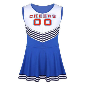 Sissy Cheerleader Costume Sissy Panty Shop Blue XXL