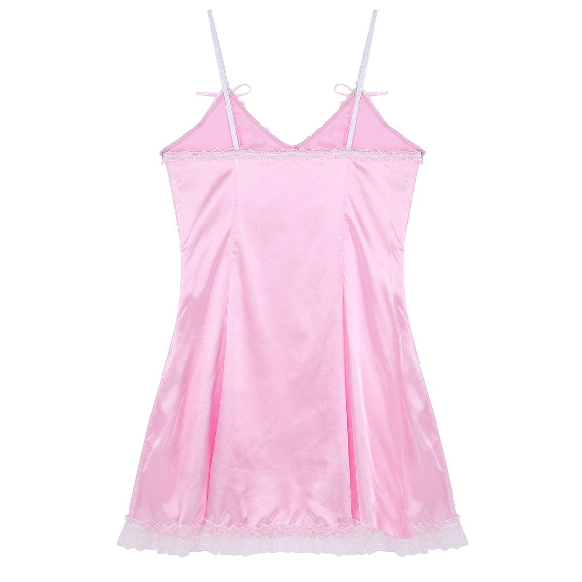 Satin Slip Dress Sissy Panty Shop